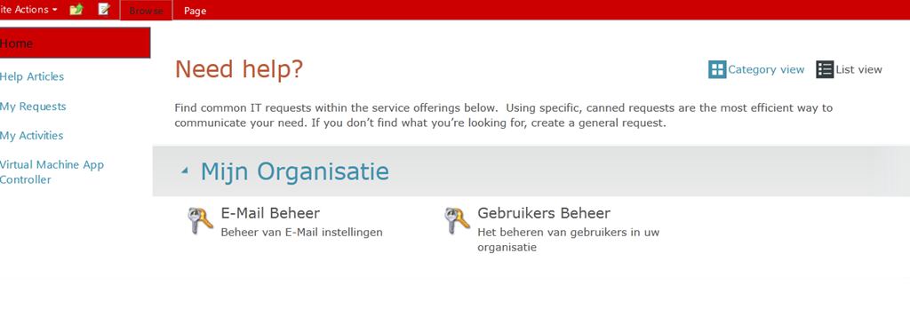 Customize Service Manager Portal 2012