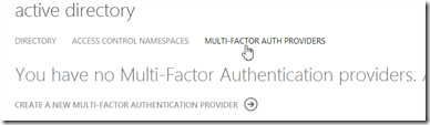 Configure Multi Factor Authentication Azure