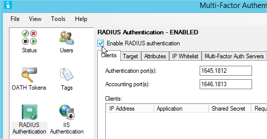 Configure Remote Desktop Gateway to use Multi-Factor Authentication
