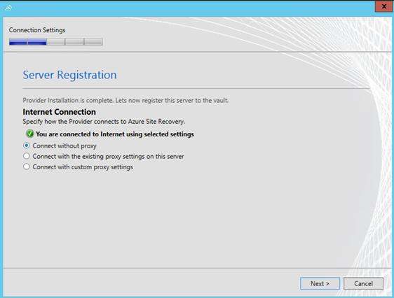 Enable Azure Site Recovery in VMM - markscholman com