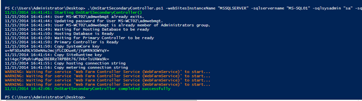 Installing and configuring HA Azure Pack Websites – part II