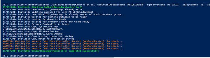 Installing and configuring HA Azure Pack Websites – part II