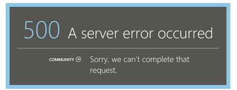Error 500 in Azure Pack when using ADFS 2
