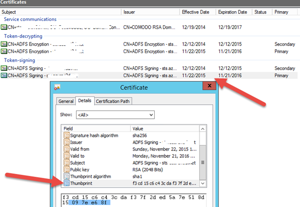 Error 500 Azure Pack tenant portal - Jwt10329 Error - markscholman com