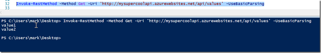 Consuming your Azure API App with Azure AD Authentication
