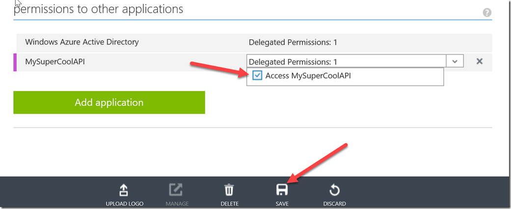 Consuming your Azure API App with Azure AD Authentication using PowerShell